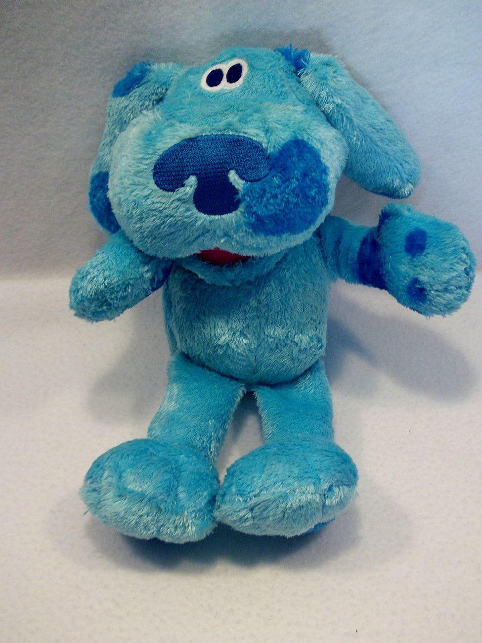 "2006 Nick Jr Blues Clues Hide And Seek Blue 12"" plush toy ..."