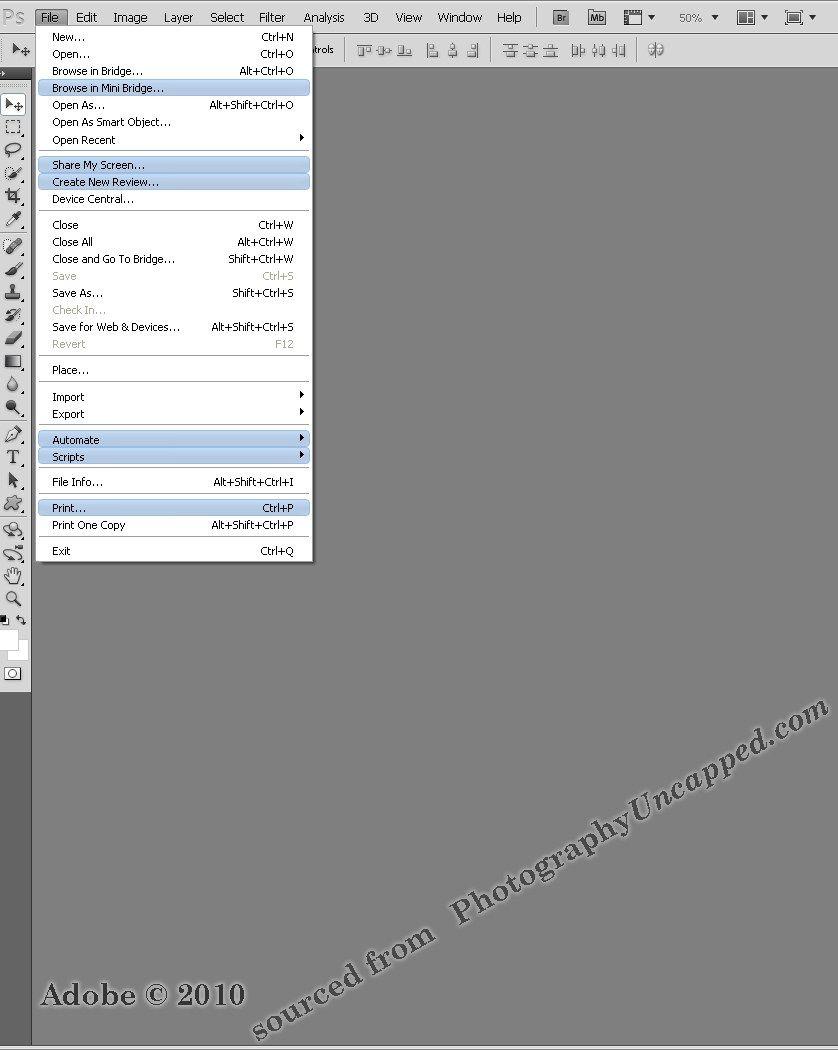 Инструкция по применению adobe photoshop cs5
