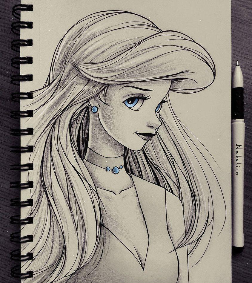 Portrait of Ariel by natalico.deviantart.com on @DeviantArt