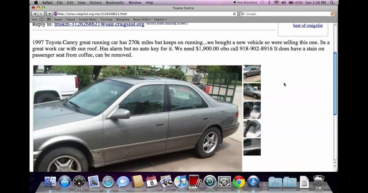Craigslist Tulsa Ok Used Cars And Trucks For Sale By In 2020 Best New Cars Craigslist Cars Cars Trucks