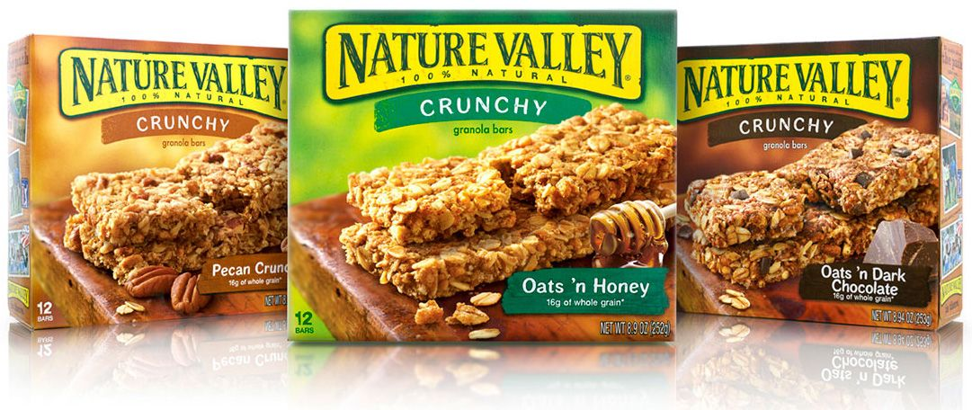 New Logo And Packaging For Nature Valley By Brand Image Nature Valley Granola Natural Valley Granola Bars Nature Valley