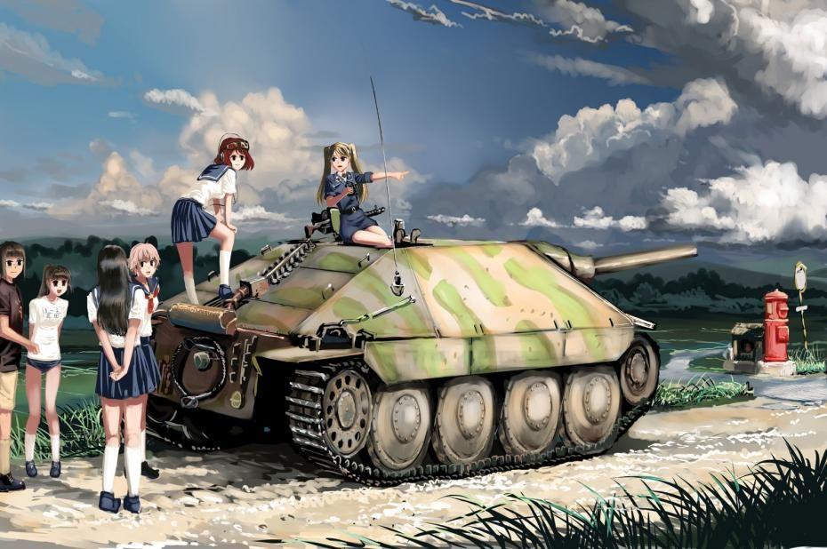 licensed girls und panzer - page 114