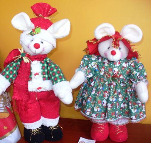 muecos y adornos navideos taller y margarita