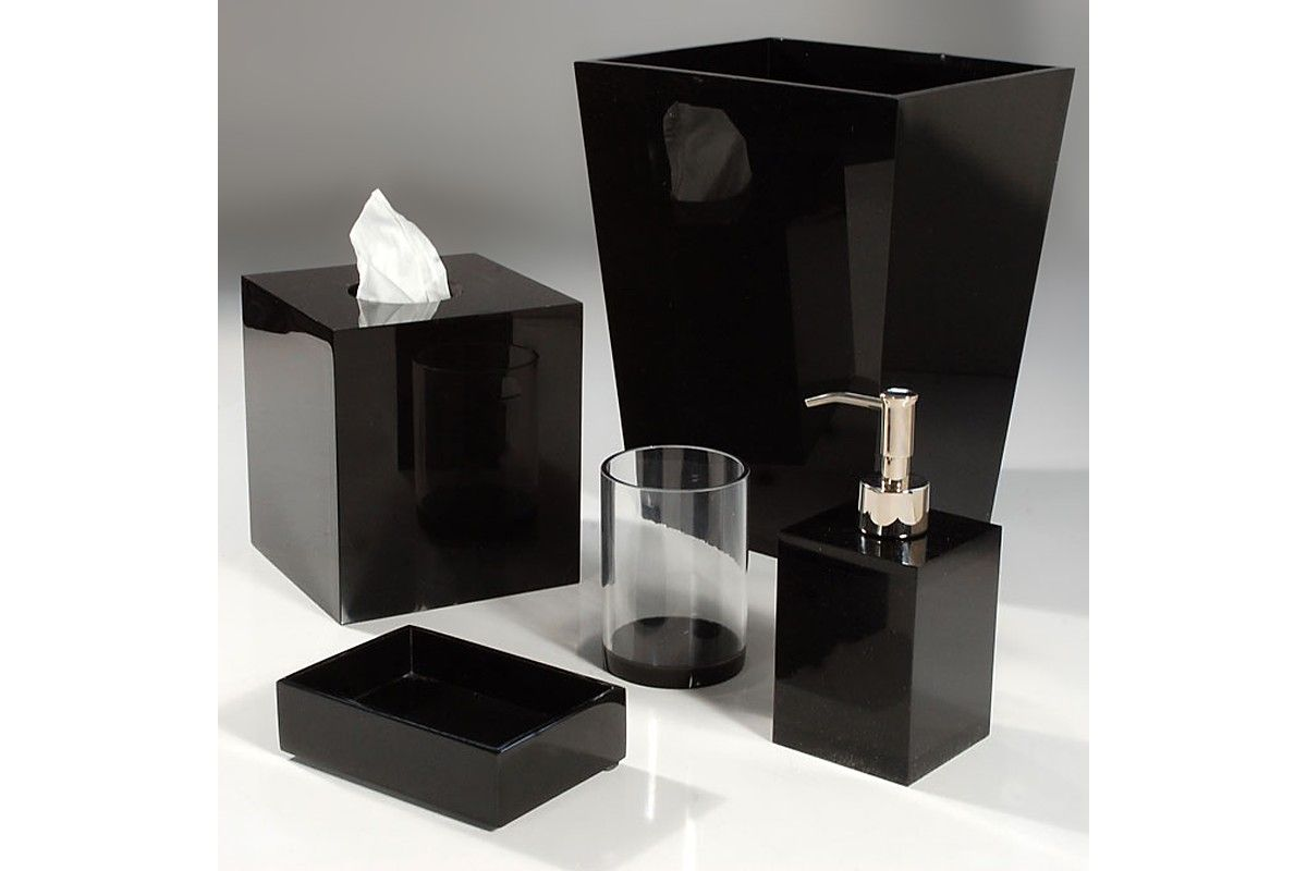 To acquire Bathroom black accessories pictures trends