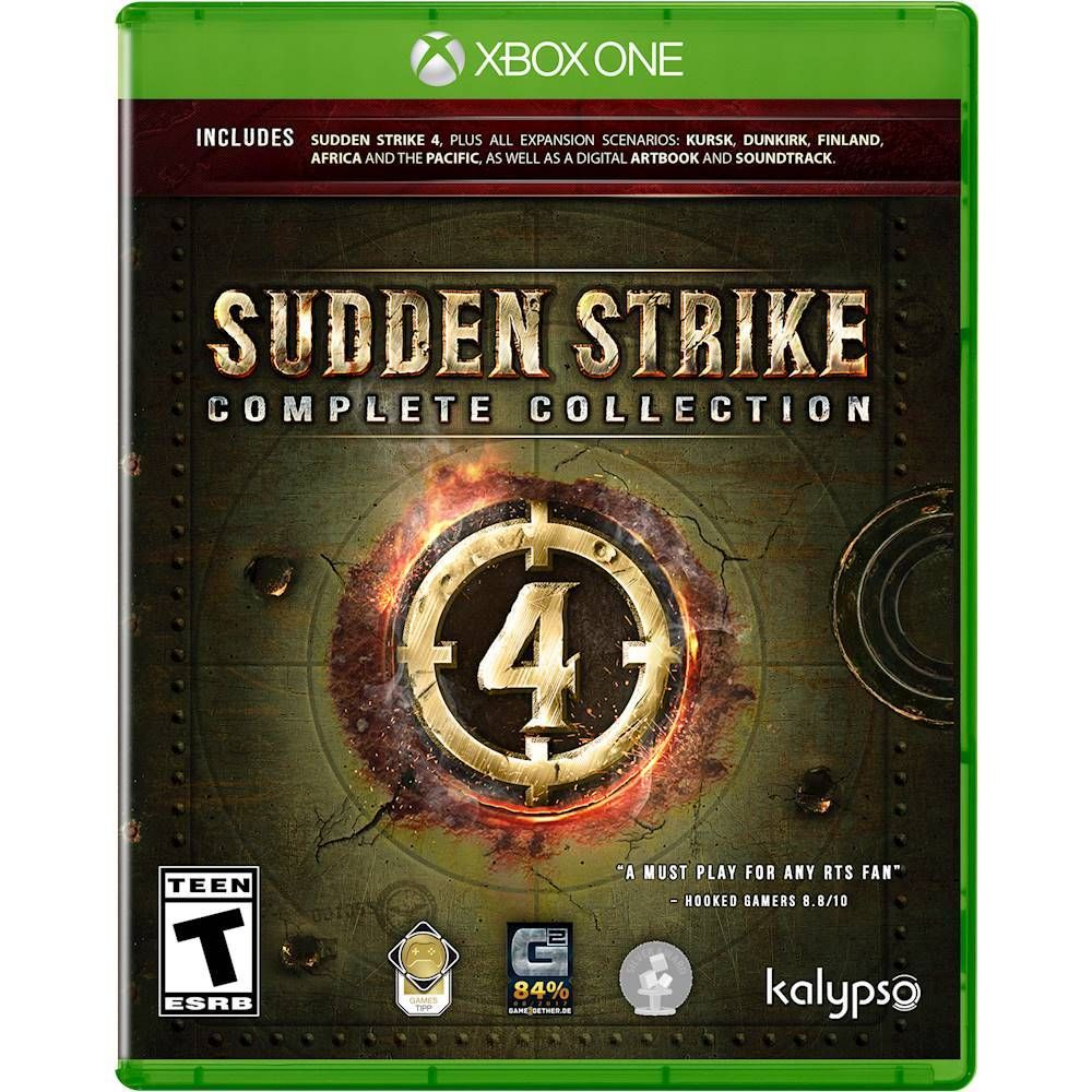 Sudden Strike 4 Complete Collection Complete Edition Xbox One