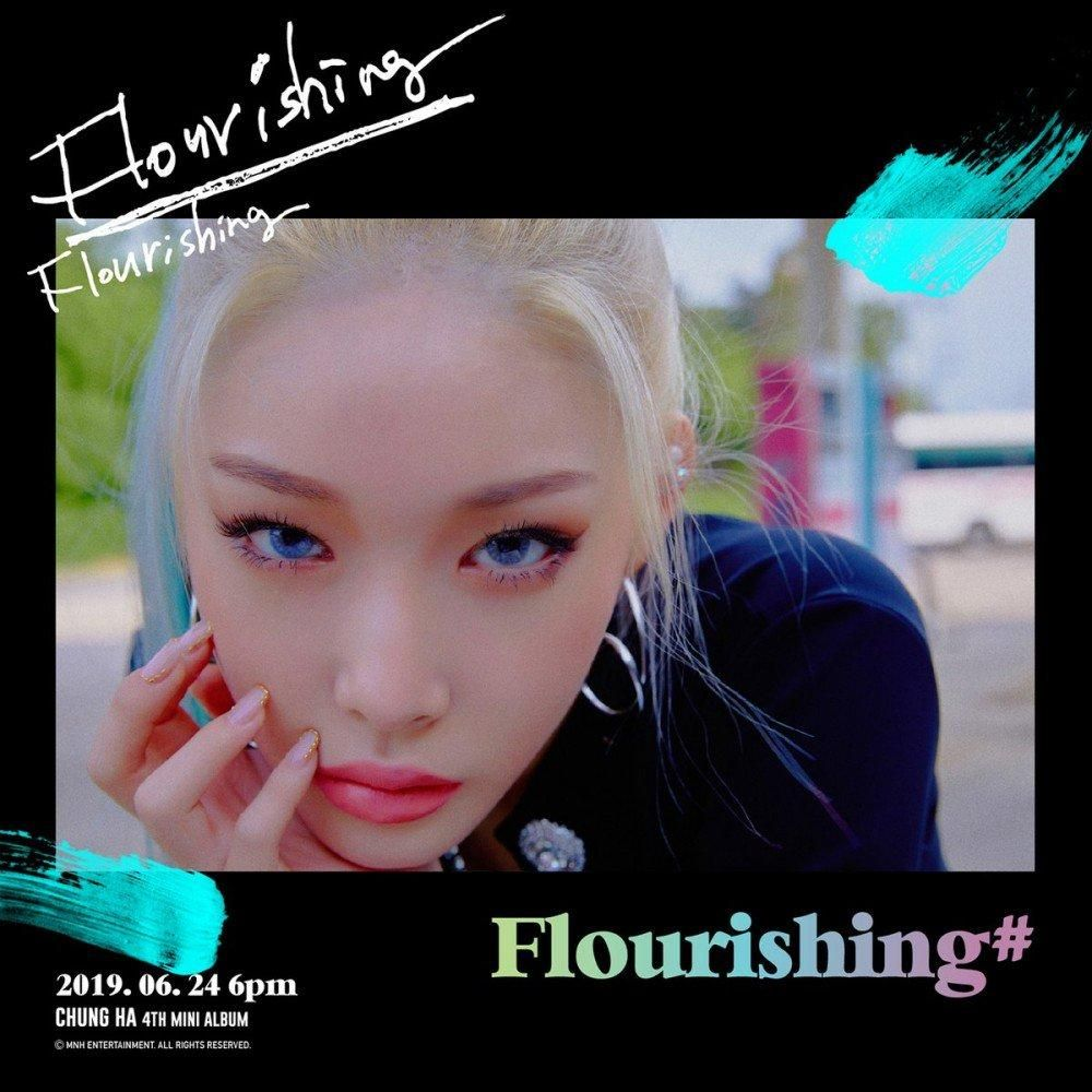 Chungha Flaunts Charming Look In Flourishing Teaser With Images