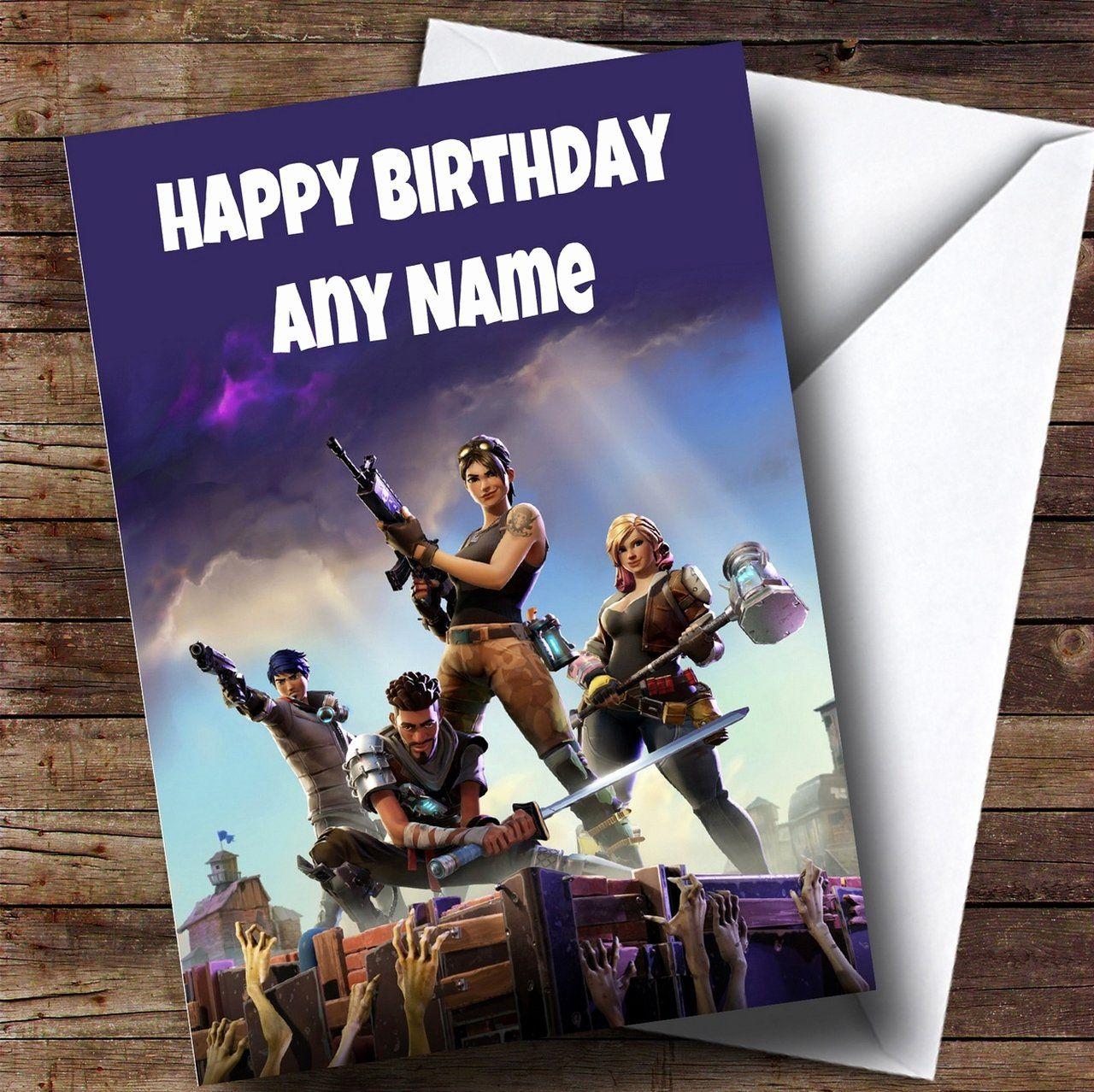 teenager birthday cards unique fortnite birthday ecard