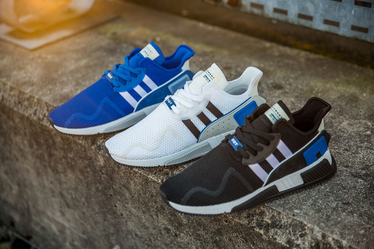 "newest 8a365 68747 adidas Originals EQT Cushion ADV ""Blue"" Pack - EU Kicks Sneaker Magazine"