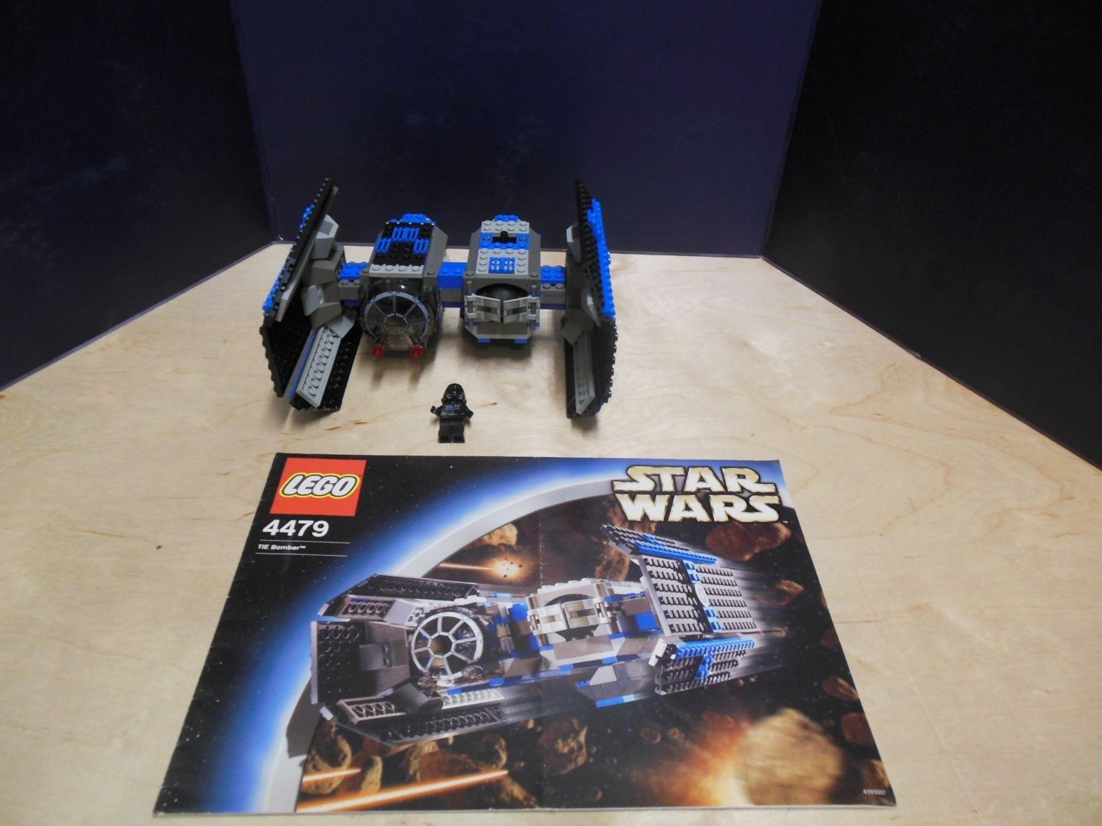 Lego 4479 Star Wars Tie Bomber 100 Complete Winstructions