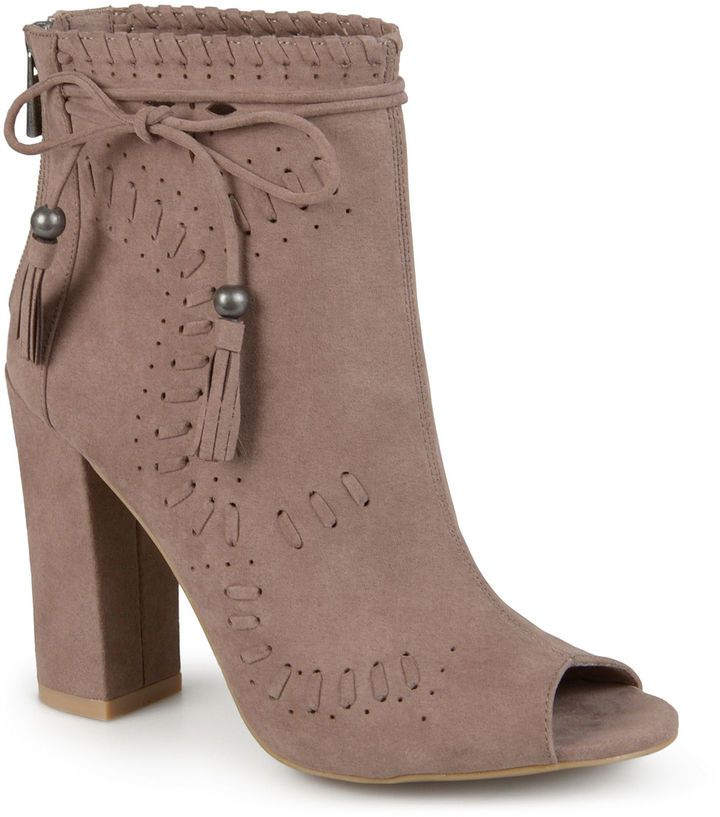 6402e4077f1a8 JOURNEE COLLECTION Journee Collection Womens Ankle + Bootie ...