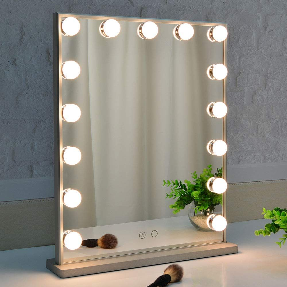 15 Makeup Mirrors That Makeup Artists Beauty Pros Say Are The Best I Am Co In 2020 Lighted Vanity Mirror Makeup Mirror With Lights Mirror With Lights