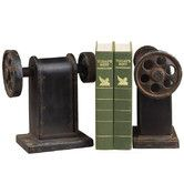 Found it at Wayfair - Industrial Book Press Book Ends