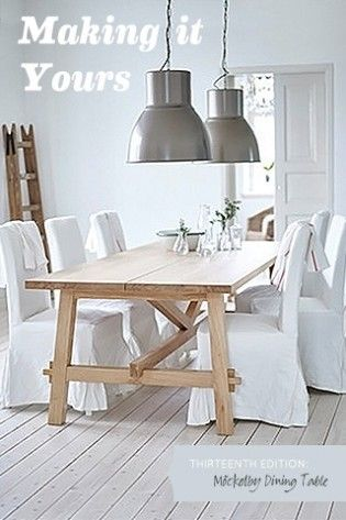 Making It Yours 13 Mockelby Dining Table Ikea Dining Ikea Dining Table Dining Table