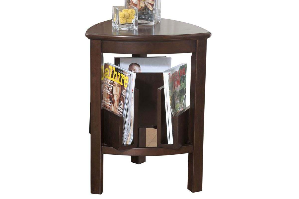 Larimer Triangle End Table By Ashley Triangle End Table End