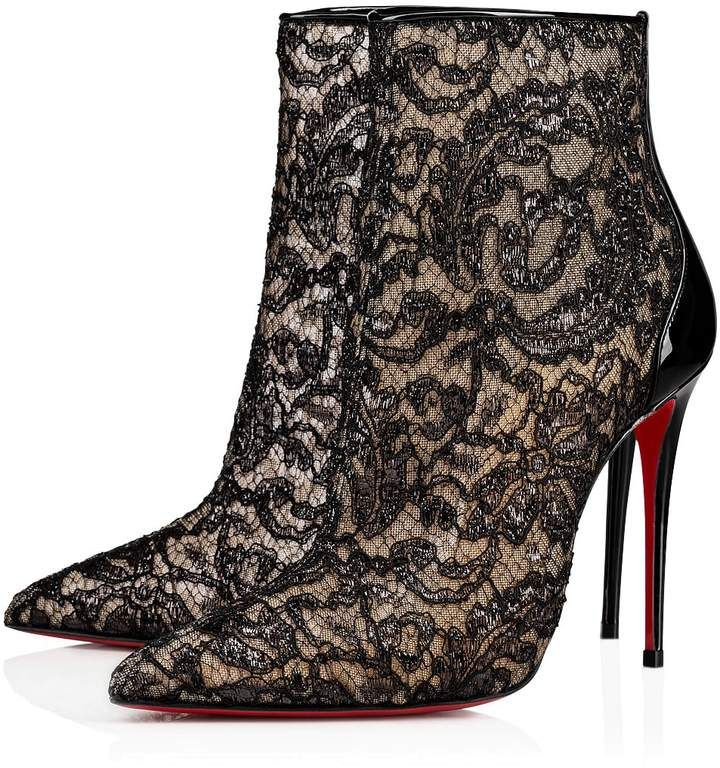 49ee0e276de Christian Louboutin Psybootie in 2019 | shoes art | Boots, Lace ...