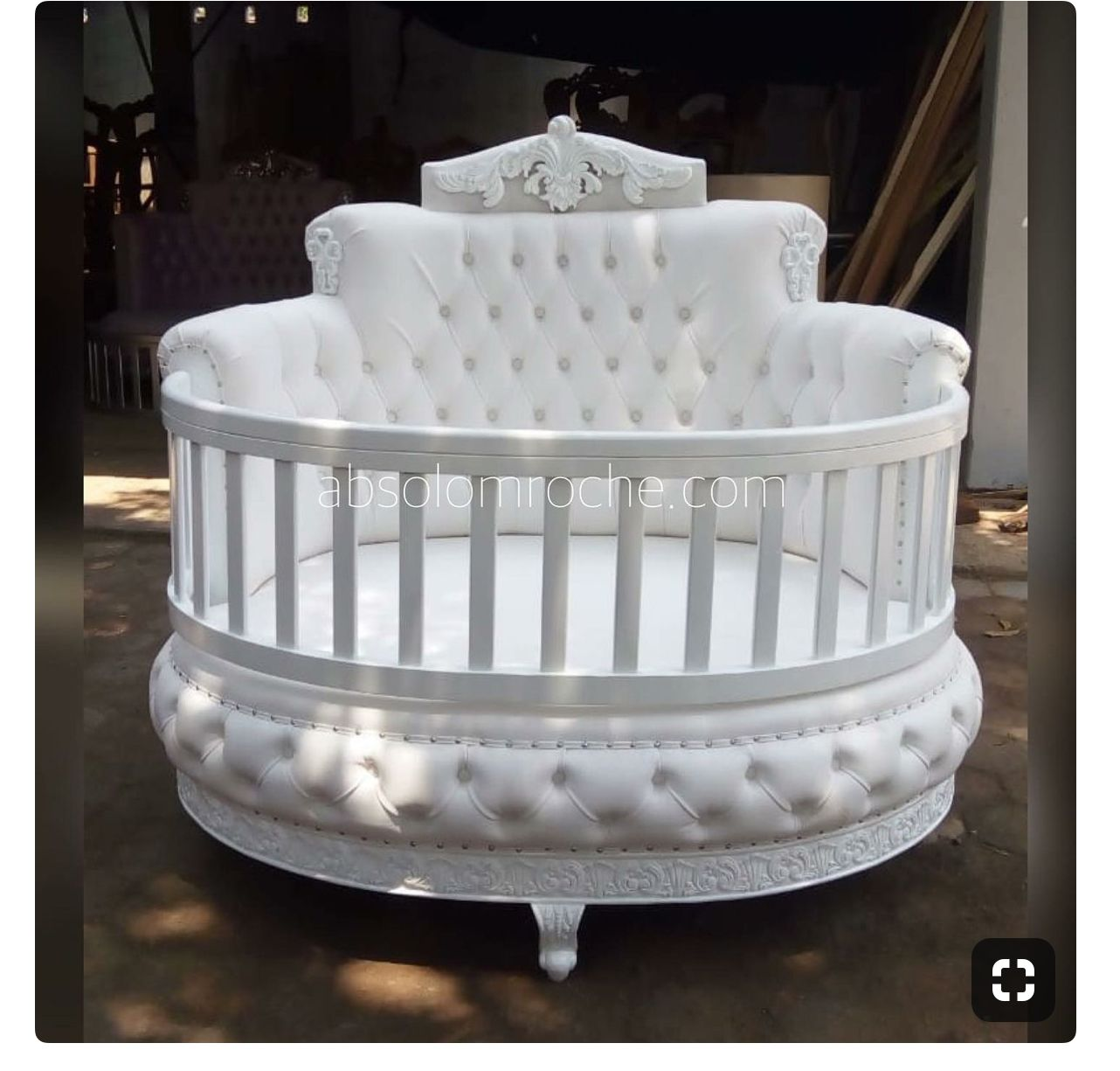Round Baby Crib Baby Crib Designs Diy Baby Furniture Baby