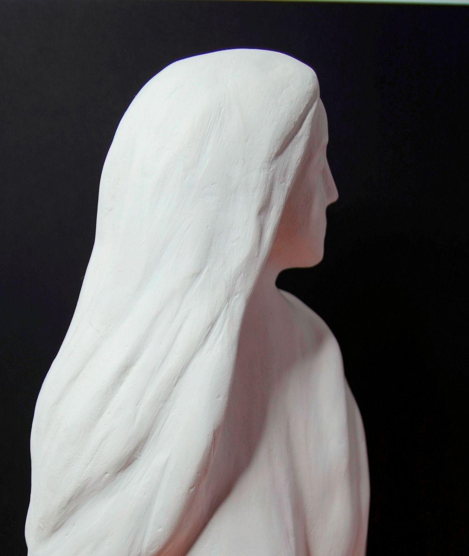 Reservee Jeune Madone Moulage En Plâtre De Paris Sculptures