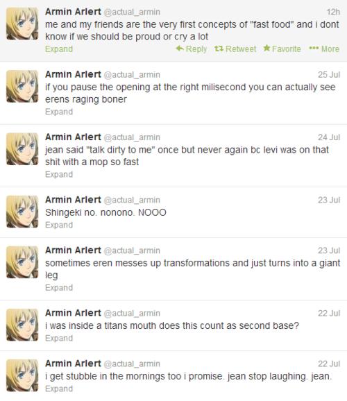 Armin Arlert twitter