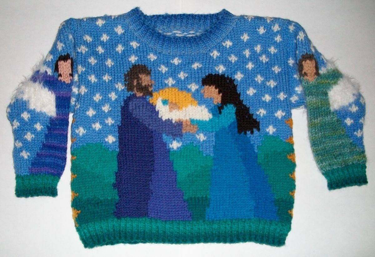 One Year Christmas Sweater. $98.00, via Etsy. AND WHY CANT I HAVE ONE IN MY SIZE!?!?!?!!?