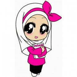 Gambar Kartun Imut Muslimah Notebooks Pinterest