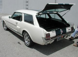 1968 Mustang Break Sport Wagon >> The Ford Mustang Station Wagon That Never Was | Harleys and Fords | Pinterest