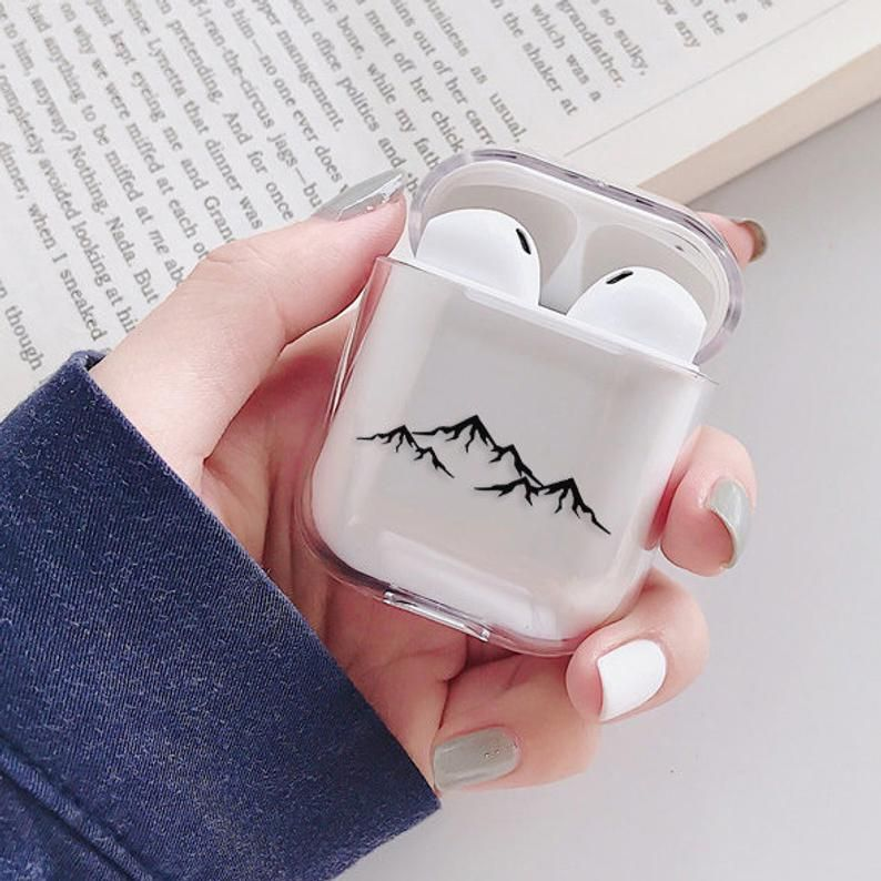 Mountains Airpod Case Clear Airpods Pro Cute Airpod Case With
