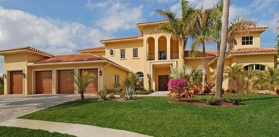 Classical Mediterranean Estate Home located in Bocaire Country Club