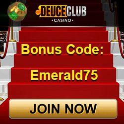 Deuce Club Casino Bonus