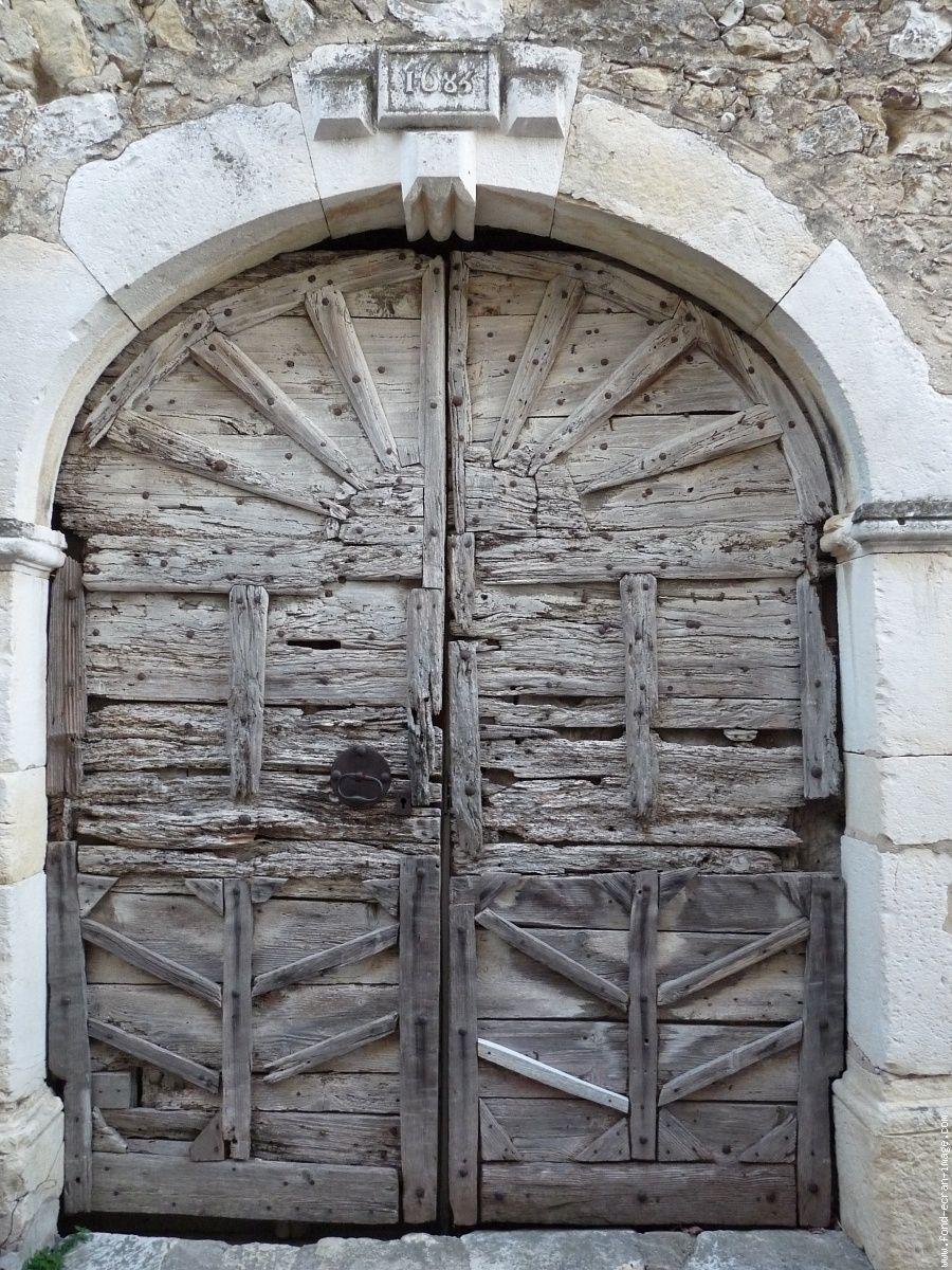 Vieille porte porte pinterest vieilles portes vieux - Vieille porte en bois a donner ...