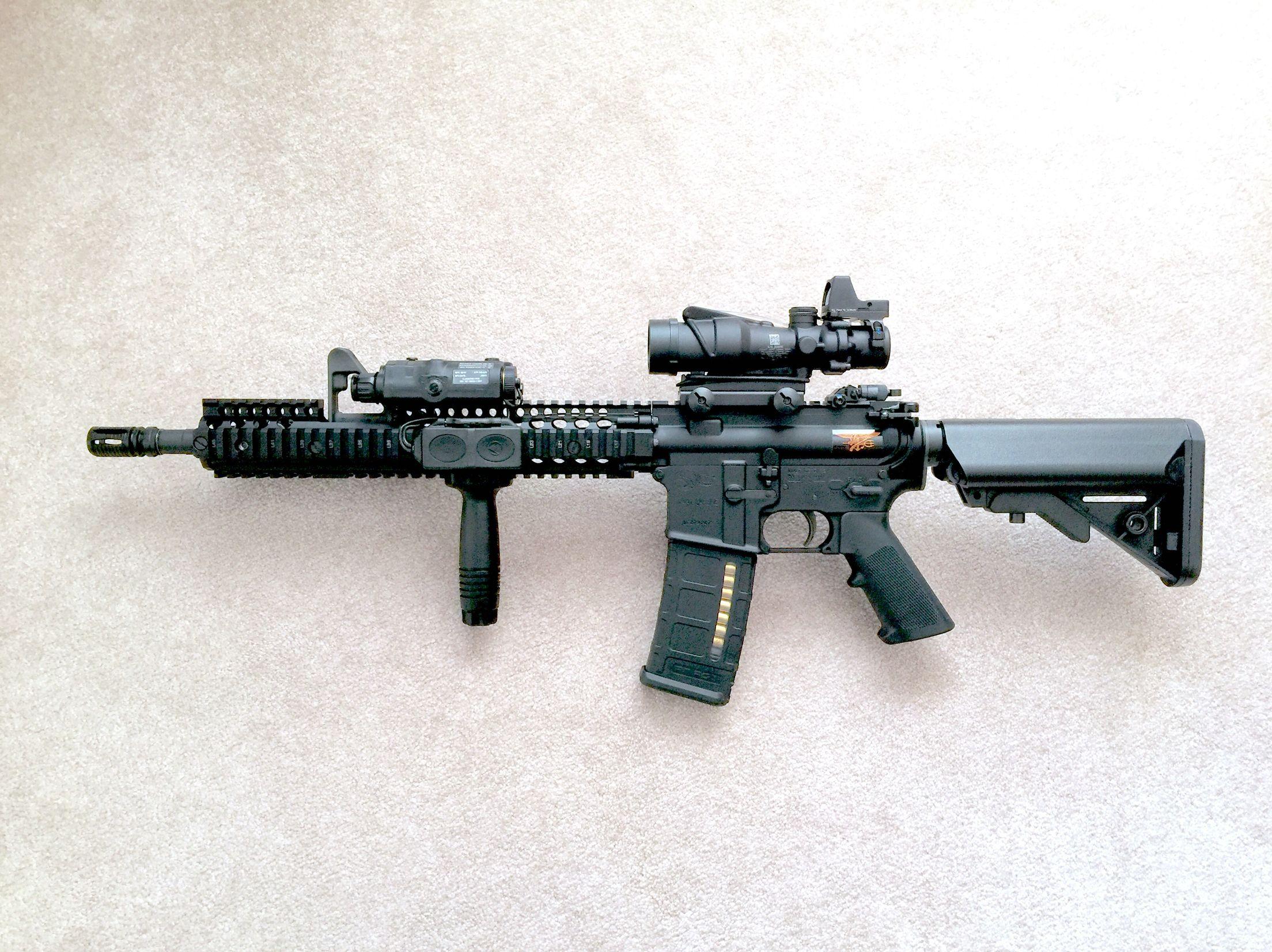 M4A1 Carbine (SOOMOD Block II): Colt M4A1 Lower & Upper Receiver