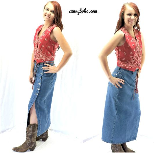 1980s skirts and hairstyles vintage 80s denim maxi skirt m 1980s boho long by
