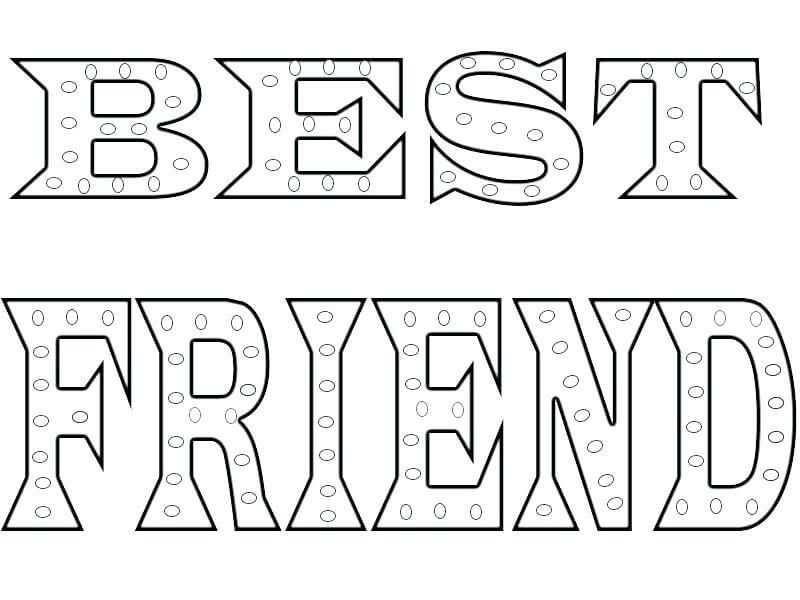 Bff Coloring Pages Coloring Pages Inspirational Coloring Pages