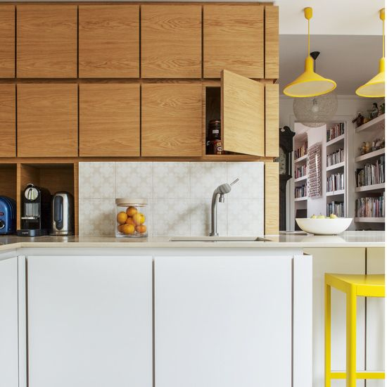kitchens modern kitchen with wooden wall cabinet also white base rh pinterest co uk