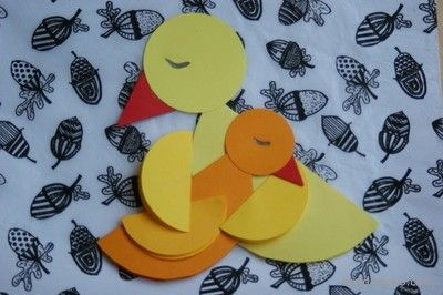 Przytulone Ptaszki Origami Z Kolka Dla Mamy Paper Crafts Art N Craft Kids Art Projects