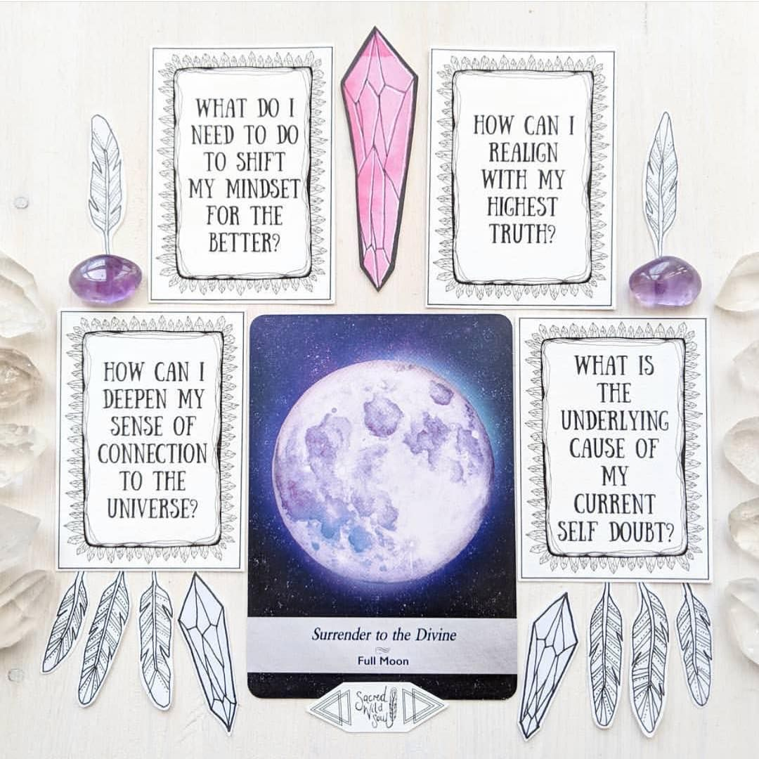 "Danielle Warford on Instagram: ""Grab your oracle and tarot cards, friends! With the full moon above us, now is the time to ask questions! Here's a wonderful template for…"" #fullmoontarotspread Danielle Warford on Instagram: ""Grab your oracle and tarot cards, friends! With the full moon above us, now is the time to ask questions! Here's a wonderful template for…"" #fullmoonquotes"