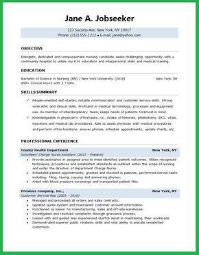 Resume Rn Nursing Student Resume  Resume  Pinterest  Student Resume .