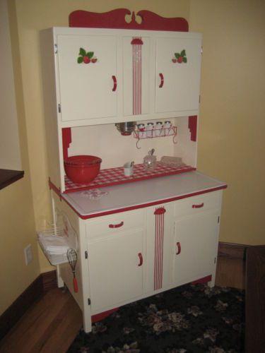 hoosier seller s baking cabinet from 1938 dated on cabinet fully rh pinterest com