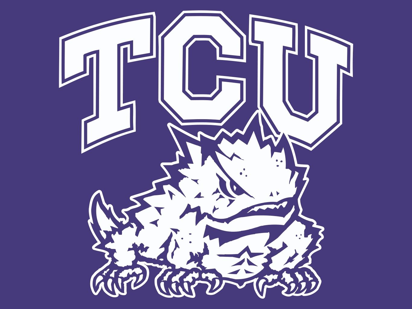 Image result for tcu horned frogs logo