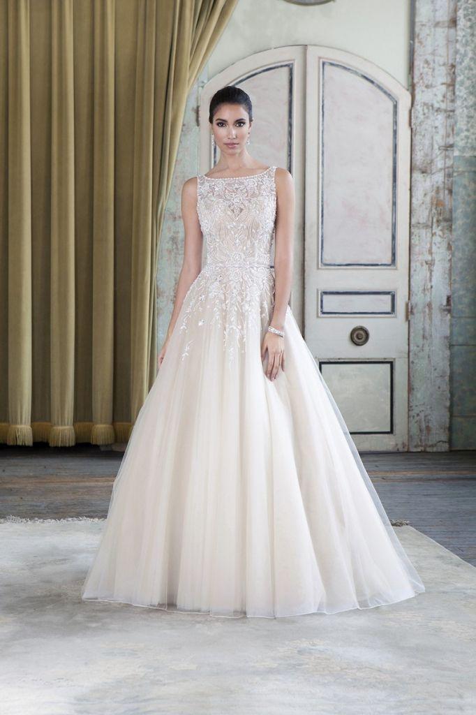 Beige Wedding Gowns 2016 - http://misskansasus.com/beige-wedding ...