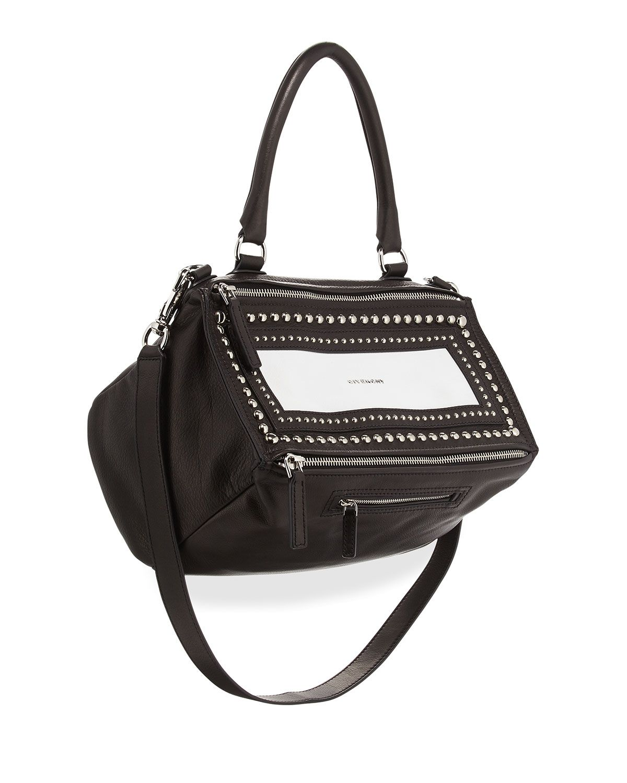1a40a1d8510 Givenchy Pandora Medium Studded Leather Shoulder Bag | #BGObsessed ...