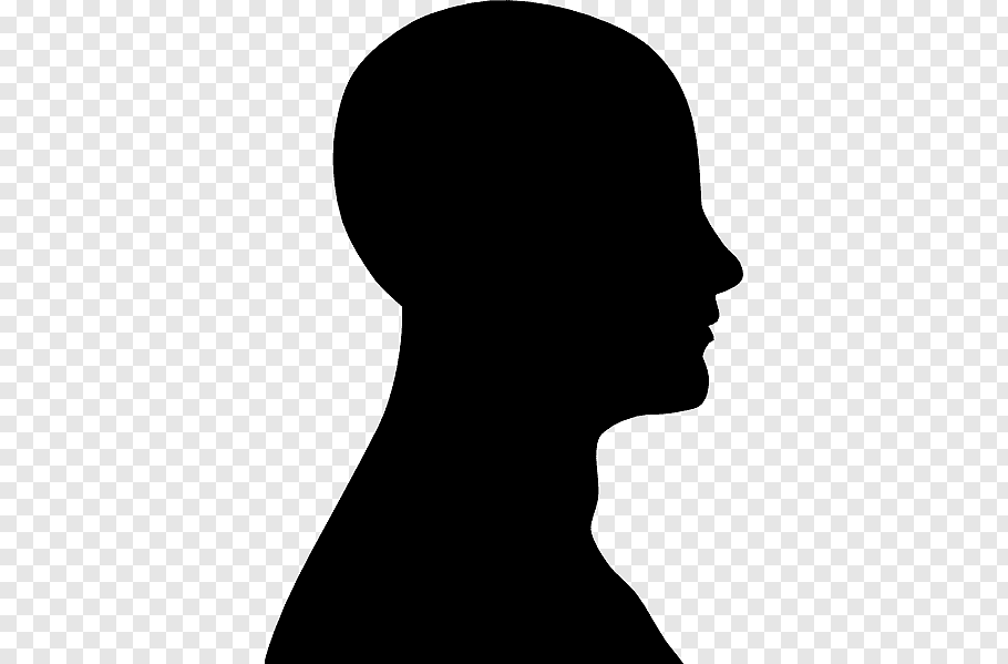 Face Outline Free Png Face Outline Silhouette Drawing Silhouette Face