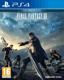 Final Fantasy XV Day One Edition PS4 Cover Art | PS4 Rules