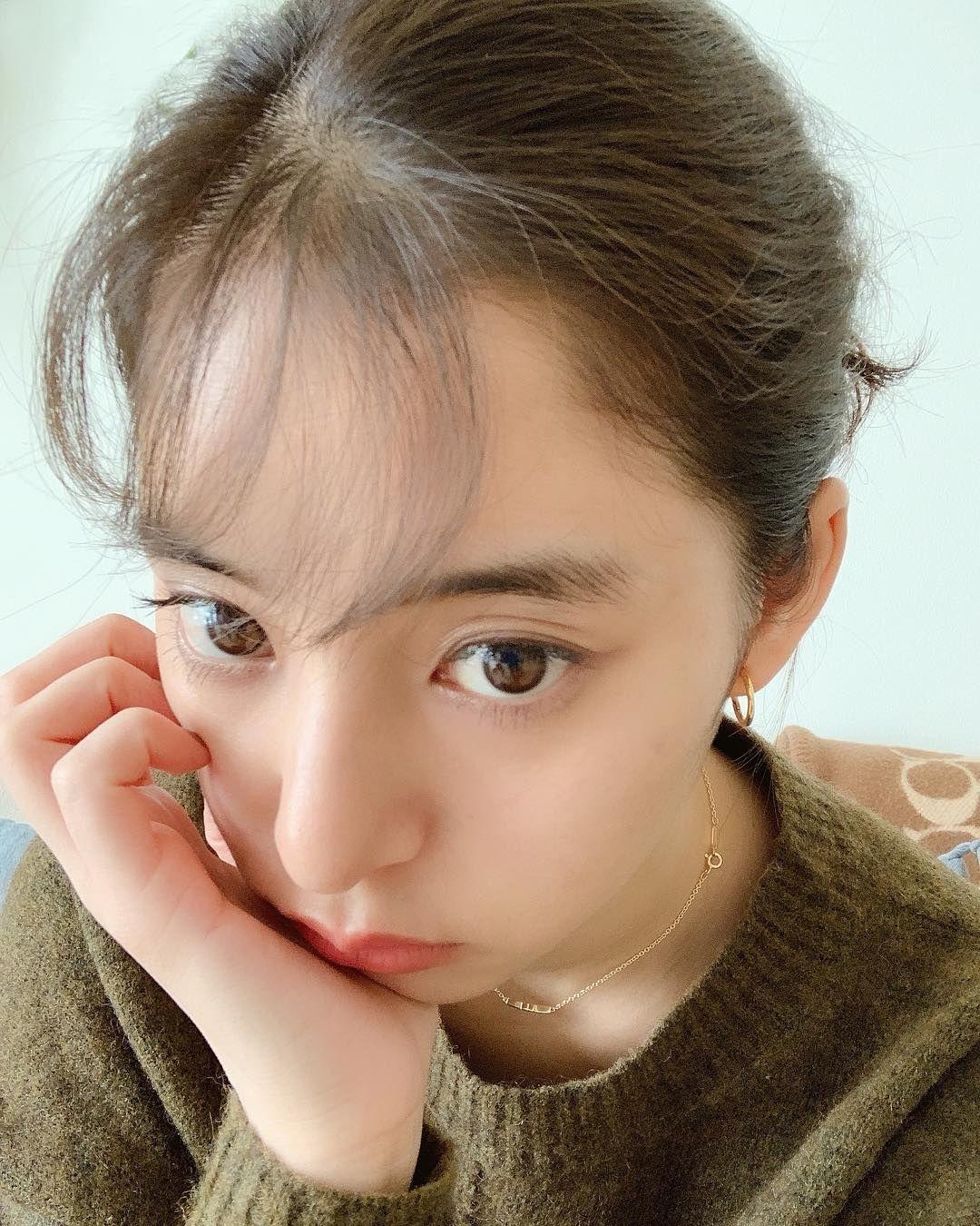 新木優子 on Instagram \u201c前髪のセットがすこーしうまくいった日