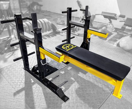 Elitefts Elitefts Flat Bench Signature Competition Bench At Home Gym Home Gym Equipment Home Gym Design