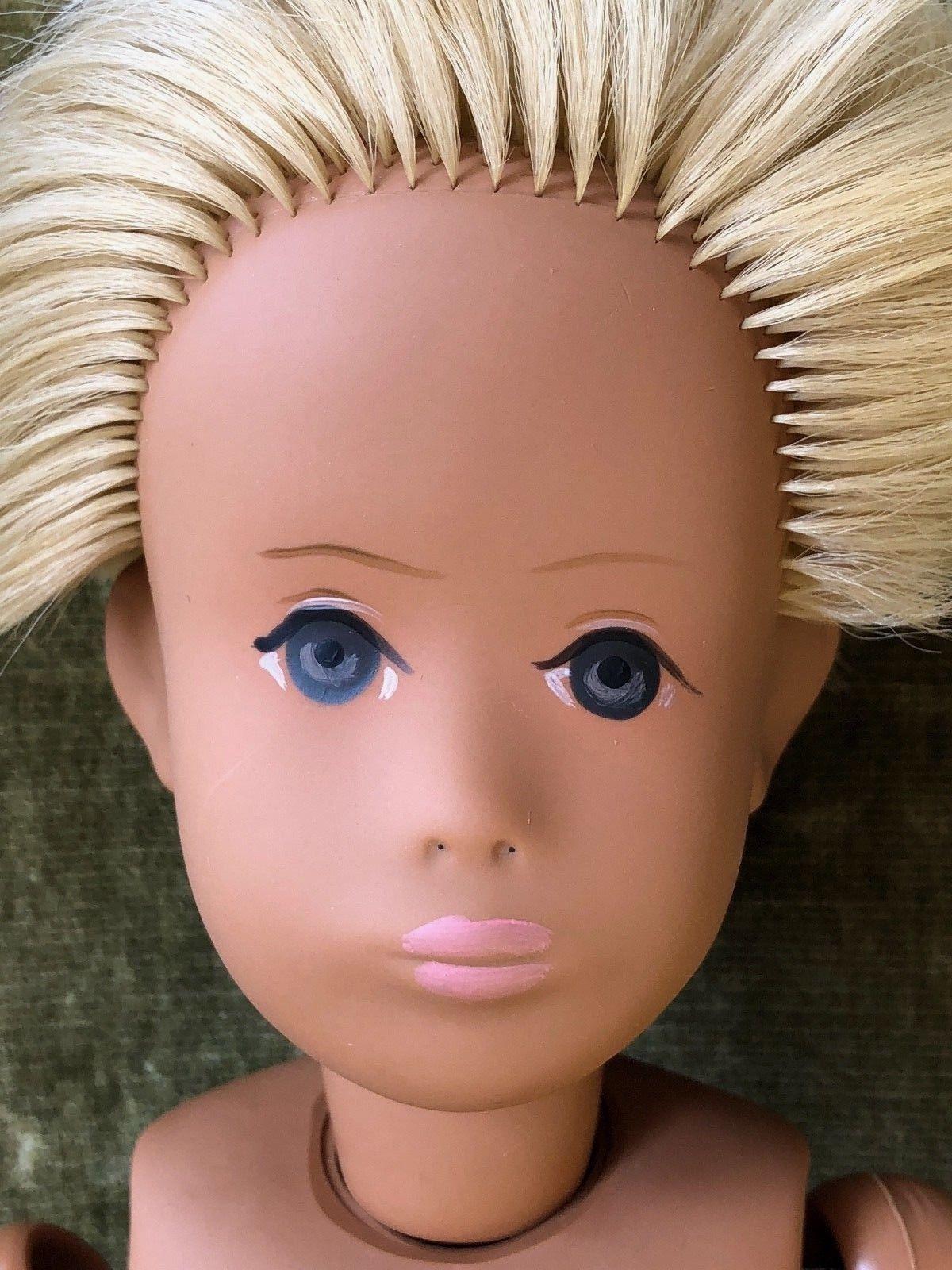 Blue Eyed Blonde No Nose Boy Sasha Doll Disney Princess Disney