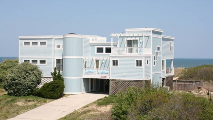 1035 Lighthouse Drive Corolla Nc This Beautiful Oceanfront Home Features Striking Ocean Views From Ev Outer Banks Rentals Obx Vacation Rentals Obx Vacation