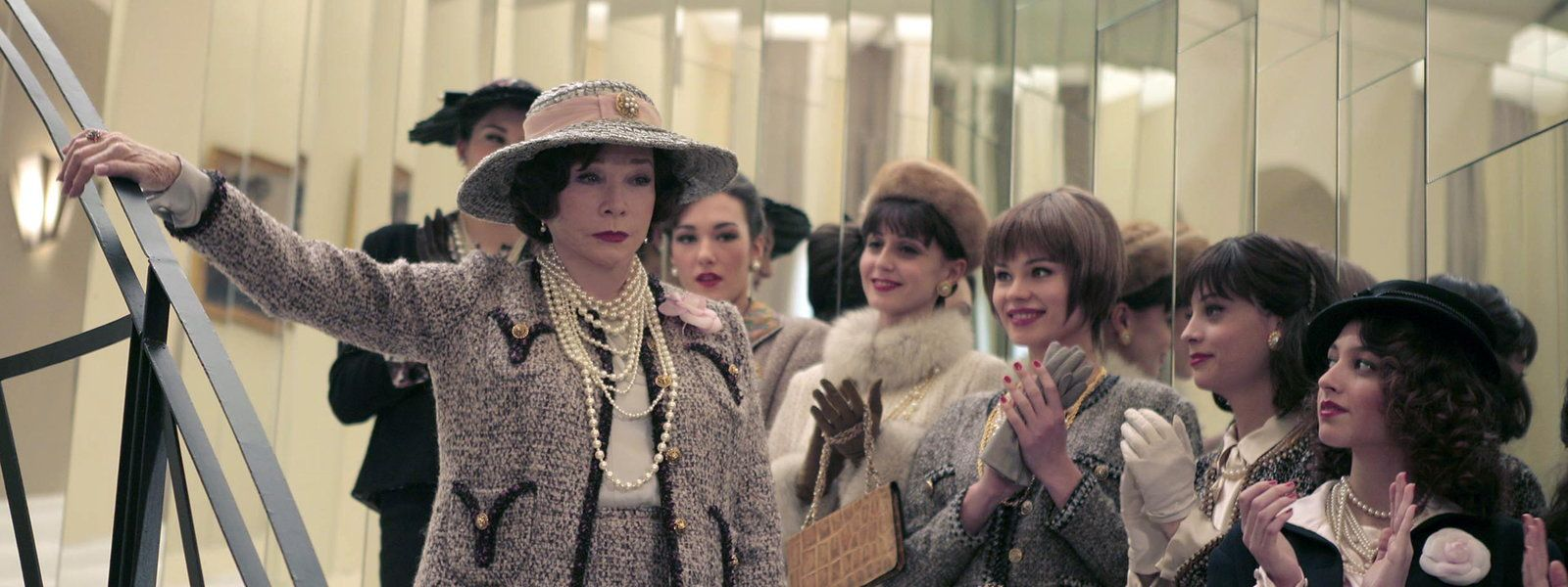 Coco chanel shirley maclane stars in this ragstoriches