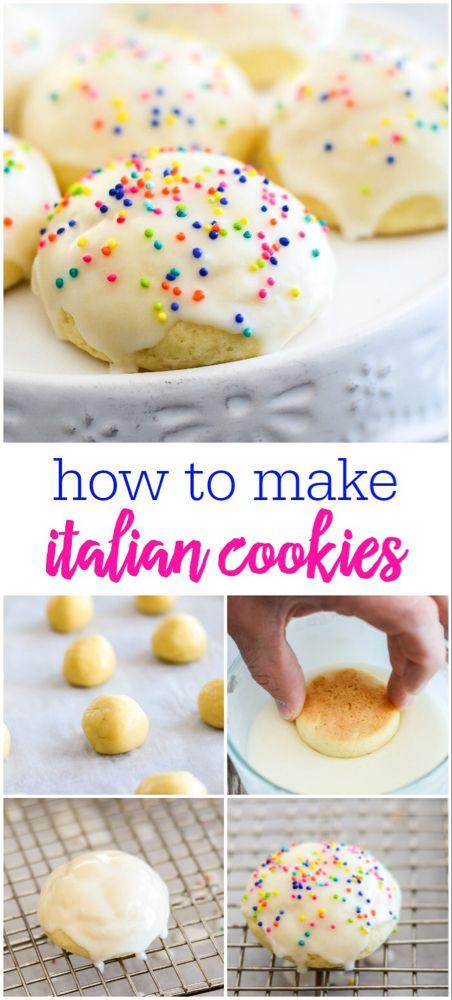 Italian Cookies AKA Italian Wedding Cookies | Lil' Luna