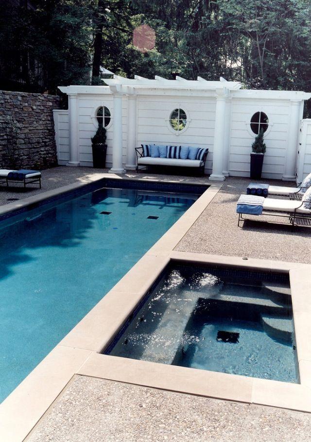 Backyard Pool And Hot Tub Swimming Pool Designs Backyard Pool Lap Pool Designs