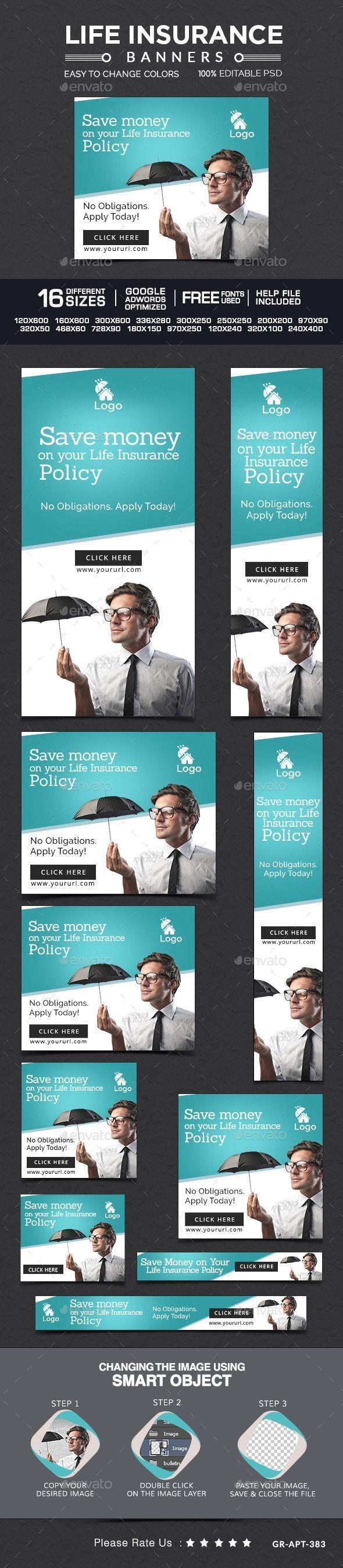 Life insurance banner   #webbanner #banner   Download: - # ...